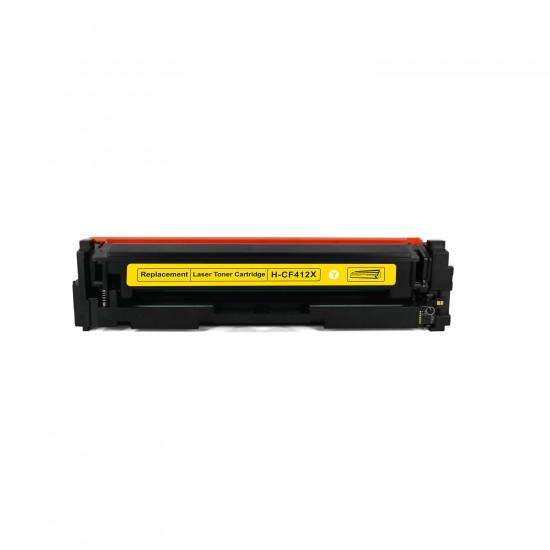 Cartus toner ReTech CF412X compatibil HP 410X galben