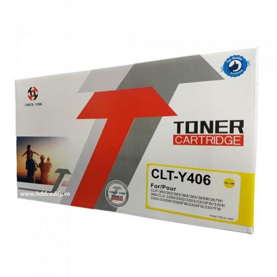 Cartus toner compatibil Samsung CLT-Y406S galben