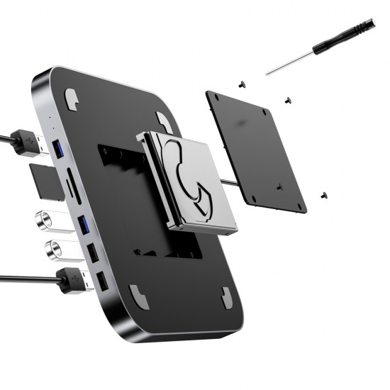 HDD Docking Station & Hub Thunderbolt Motrix® pentru Apple Mac Mini