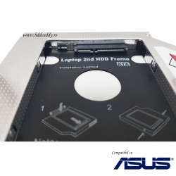Asus F5R F3SC F3JR 5SL F6S F7SE G2S HDD Caddy