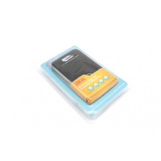 "Rack HDD 2,5"" Extern, USB 3.0-SATA, cablu si husa protectie incluse, carcasa din aluminiu"